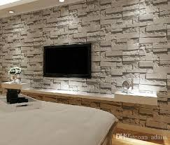 stacked brick 3d stone wallpaper modern wallcovering pvc roll wallpaper brick wall background wallpaper grey for living room hd wallpapers high definition