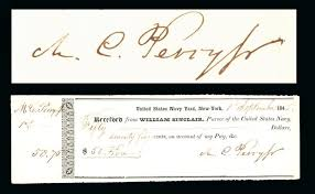 「1853 Matthew Calbraith Perry landed Kurihama」の画像検索結果