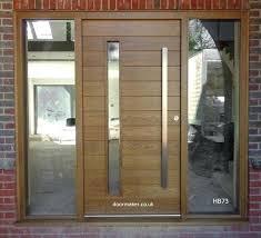 modern wooden front doors contemporary front doors oak iroko and other woods bespoke doors high quality
