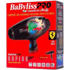 Hair Dryer Rapido Ferrari Babyliss Pro