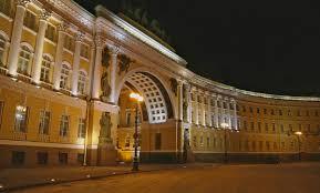building facade lighting. Lamps TRIF Dvorcovaia Ploshad Building Facade Lighting