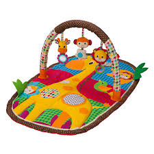 Infantino Llc Take & Play Safari Activity Gym & Play Mat