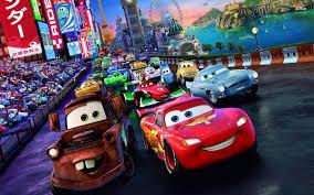 Phim hoạt hình Cars mang đến một thế giới đầy màu sắc
