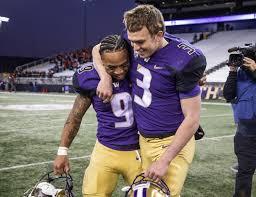 Washington's dynamic senior duo of Myles Gaskin-Jake Browning hope to  fulfill Rose Bowl dream | The Seattle Times
