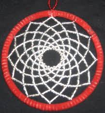 Beaded Dream Catchers Patterns My first beaded dreamcatcher now with finished pic JEWELRY 12