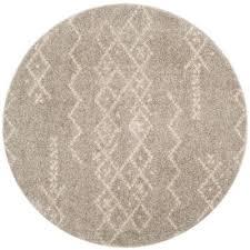 arizona gray ivory 7 ft x 7 ft round area rug