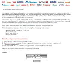 safeway job application online form safeway job application employment resources job application point