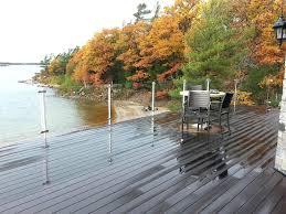 glass railing system for decks a 3 fortunately for us glass deck railings glass railing system