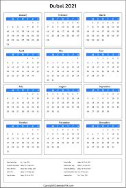 This page contains a calendar of all 2021 public holidays for australia. Printable Dubai Calendar 2021 With Holidays Public Holidays