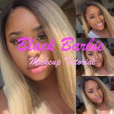 prettiiinickiii beauty black barbie summer makeup tutorial