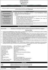 java 2 years experience resume samples online resume builder