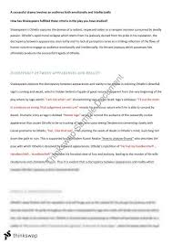 othello essay preliminary year hsc english advanced  othello essay preliminary