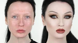 extreme insram makeup transformation