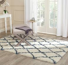 safavieh ivory and blue for moroccan area rugs ideas in bedroom