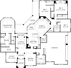4 bedroom single story house plans amazing of four bedroom one story house plans house plans