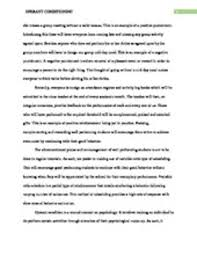 opperant conditioning essay studypool conditioningoperant conditioning is a way of learning that involves punishments and rewards for acertain behavior operant conditioning associates a