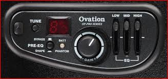 ovation preamps op pro