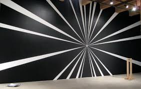 black and white wall murals decals