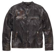 h d motorclothes harley davidson leather jacket sd distressed 98004 18vm