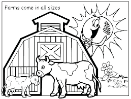 Free Printable Farm Animal Coloring Pages Sheets Baby Colouring Of
