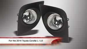 2014 Toyota Corolla Fog Light Bulb 2014 Toyota Corolla L Le Fog Lights