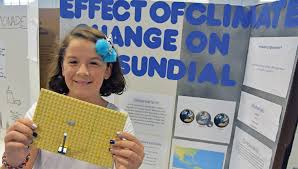 Students Show Off Science Fair Projects Port Aransas South