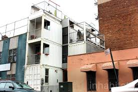 shipping container home labor. Shipping Container Home In Williamsburg, Brooklyn. Architecture Labor
