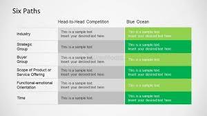 Bos Chart Template Bos Six Path Framework Powerpoint Slide Slidemodel