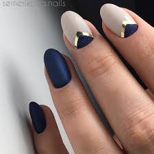 Minimal Nail Art Design Blue | Nails | Pinterest | Manicuras