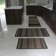 Rubber Backed Kitchen Rugs Black Natural Aztec Design Jute Style Rug Rubber Backed Beige