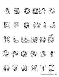 Coloring Pages Spanish Alphabet Brendanoneillinfo