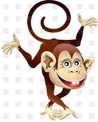 funny cartoon dancing monkey vector image vector ilration of plants and s gertot1967 to zoom