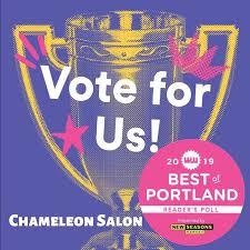 chameleon salon where customer service meets creativity
