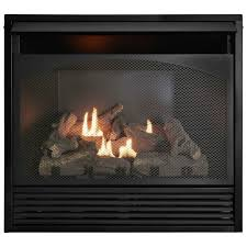 gas fireplace insert dual fuel technology with remote control 32 000 btu fbnsd32rt a