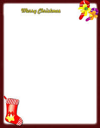 Holiday Borders For Word Documents Free Christmas Stationery Templates Word Free Borders For Word Document