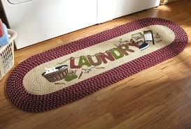 braided rug runners com vintage laundry room decorative braided runner home delightful rug 5 washable braided rug runners