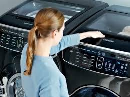 samsung smart washing machine. samsung\u0027s smart flexwash flexdry washing machine does four loads at once - business insider samsung m