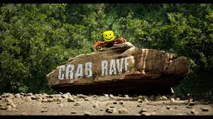 crab oof crab rave but instead it s oofied