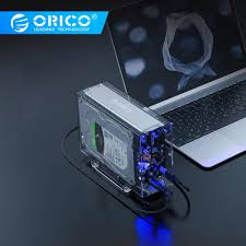 orico 3 5 inch hdd case type c hard drive enclosure adapter