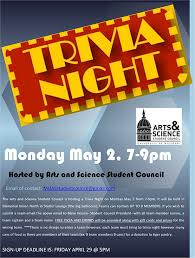 A S Student Council Hosts Trivia Night College Of Arts And