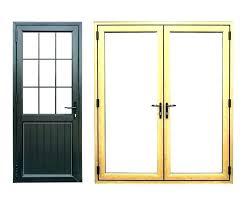 double door weather stripping between doors commercial entry