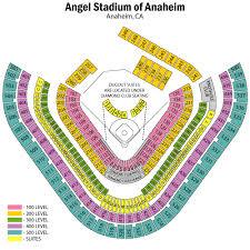 Anaheim Angels Stadium Seating Chart Angel Stadium Of Anaheim Seating Chart Views Reviews
