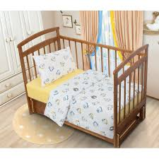 home baby tatkraft lammy baby bedding set with educational print 100 organic cotton of high quality soft and hypoallergenic flannel yellow