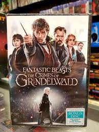 Fantastic Beasts The Crimes Of Grindelwald Dvd - Movie Galore