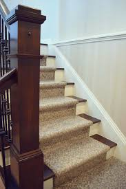 Patterned carpet can give your staircase some unique style. | Pattern |  Carpet