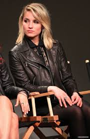 dianna agron at apple store soho presents tribeca film festival