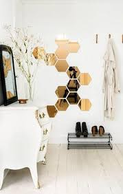 Copper wall design and decorating ideas