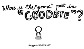 Finest 11 fashionable quotes about goodbye picture English ... via Relatably.com