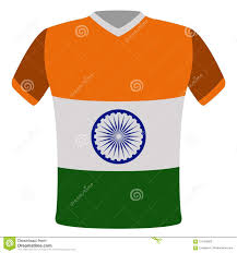 Indian Flag T Shirts Design Flag T Shirt Of India Stock Vector Illustration Of Icon
