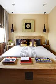 Collect this idea photo of small bedroom design and decorating idea - wood  chic